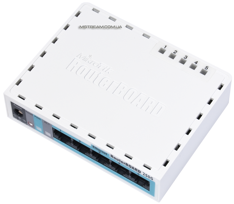 Купить Маршрутизатор RouteBoard 250GS Mikrotik