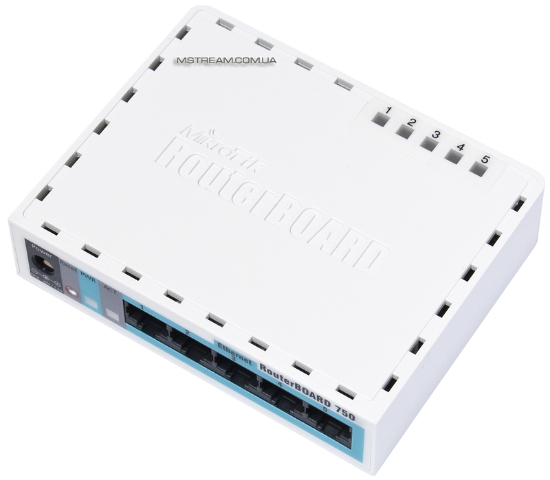 Купить Маршрутизатор RouterBoard 750G Mikrotik