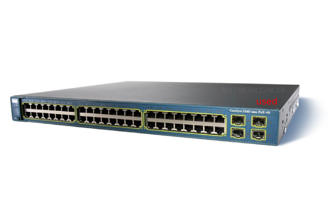 Купить Cisco Catalyst 3560 48 Poe USED