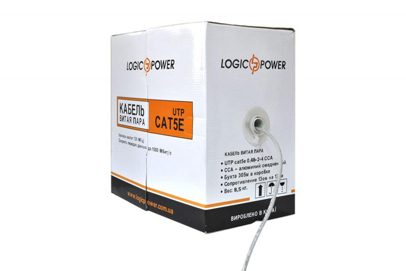 Купить LogicPower 4*2*0,48 (UTP-cat.5е)