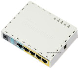 RB750up Mikrotik роутер c poe